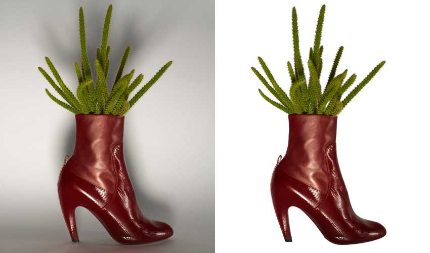Clipping-Path-Shoe
